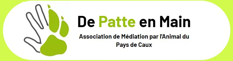 Logo de patte en main