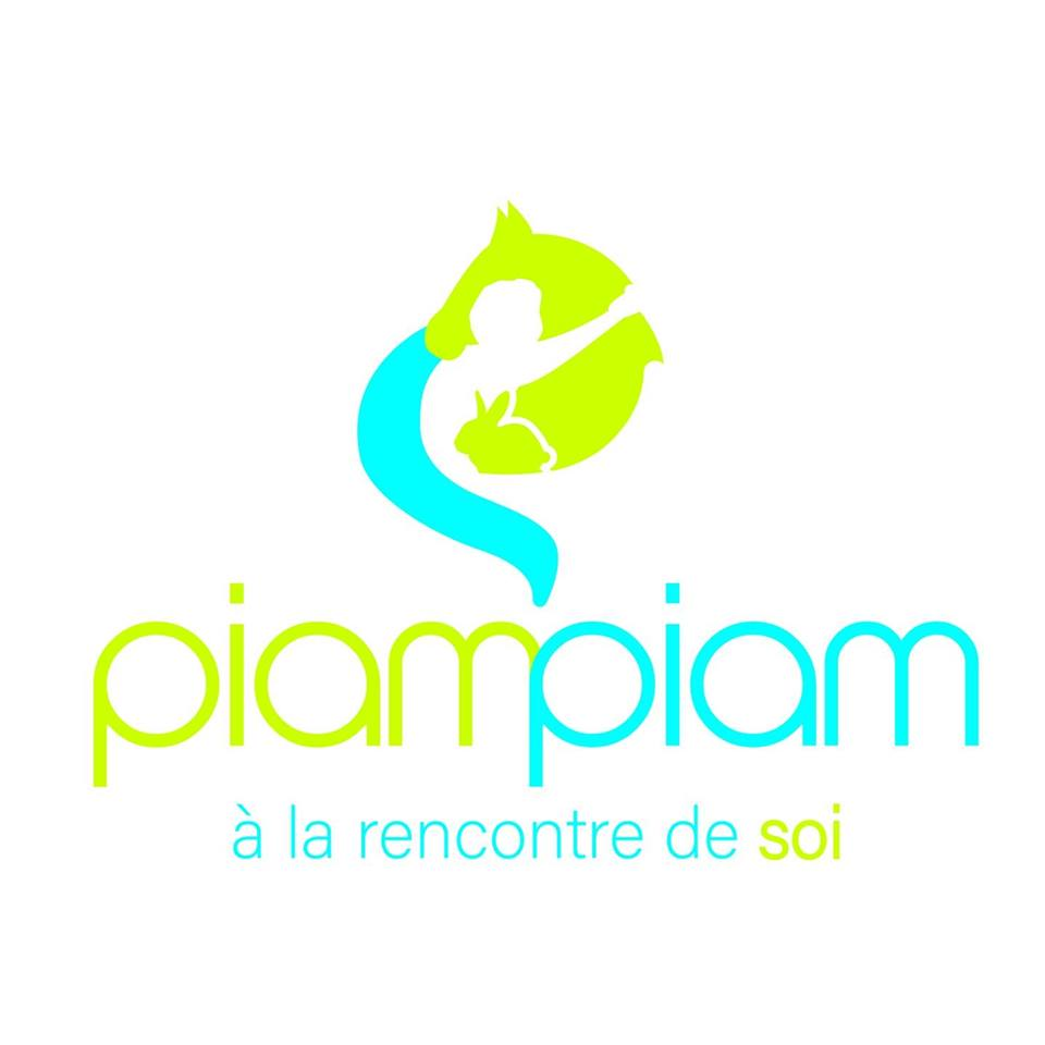 logo de Piam Piam, Médiation animale en Ardennes